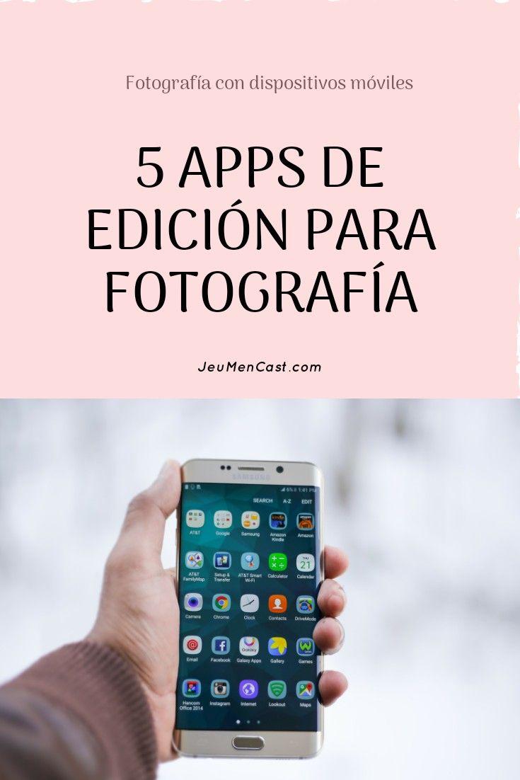 Aplicaciones De Edición Para Fotografía