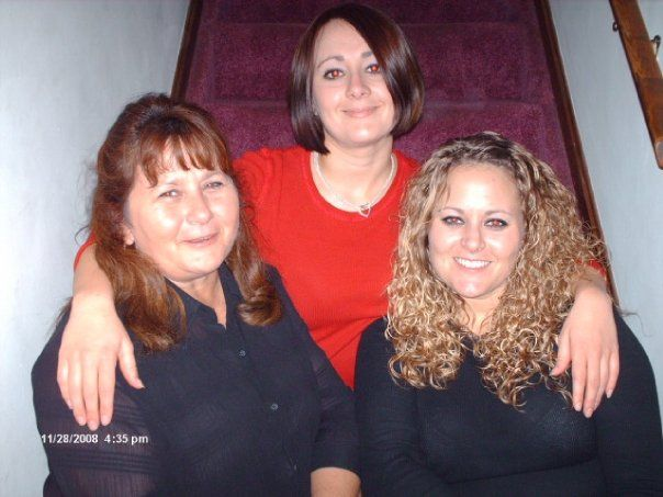 Shirley and her girls (Chrissy and Amy) -cousins