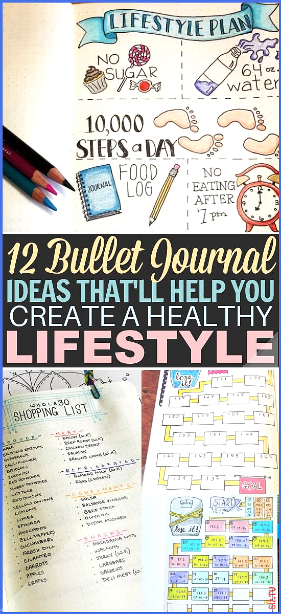 12 Fitness Bullet Journal Layout Ideas 12 Fitness Bullet Journal Layout Ideas Lenina Rosenfeld lenin...