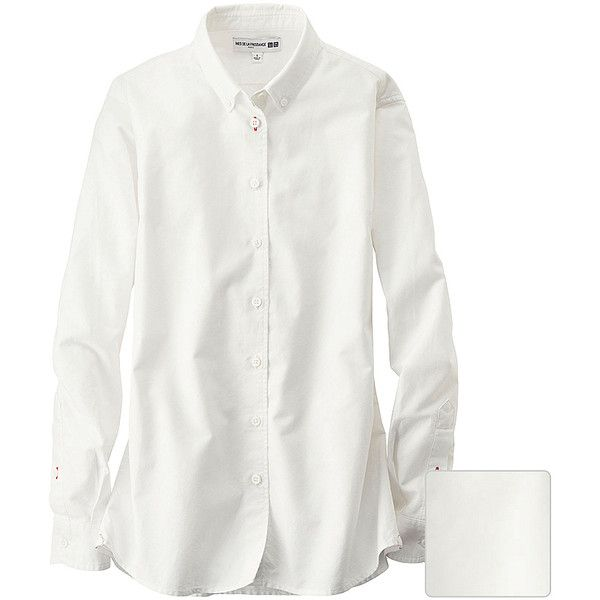 UNIQLO Women Idlf Oxford Basic Long Sleeve Shirt (€35) via ...