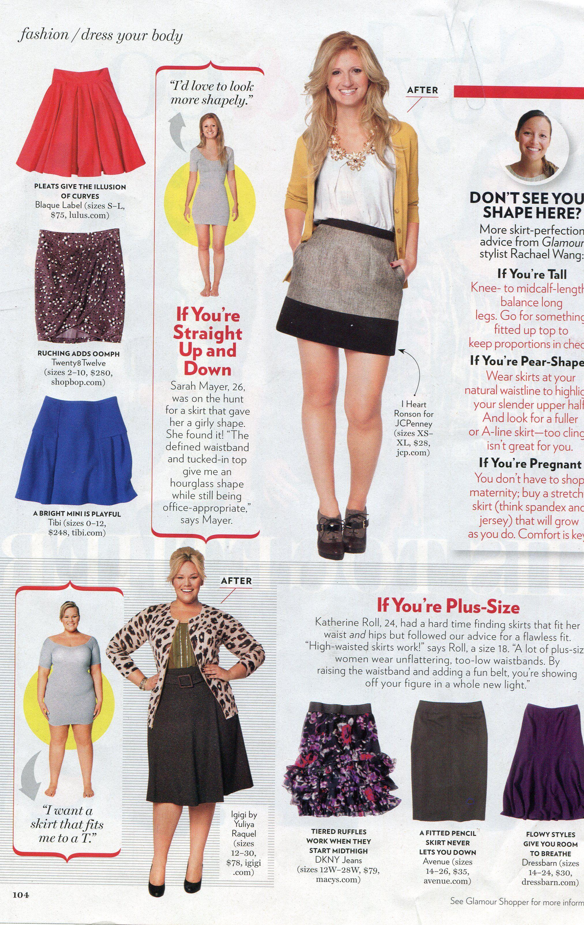 JC Model, Katherine at work for Glamour Magazine!