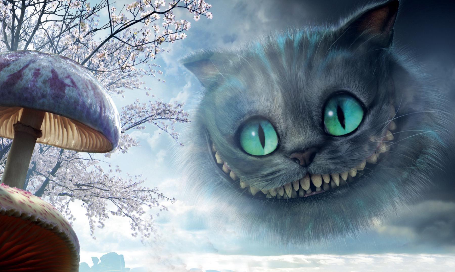 El gato de Chessire | El gato sonrisas | Pinterest | El gato, Gato y ...