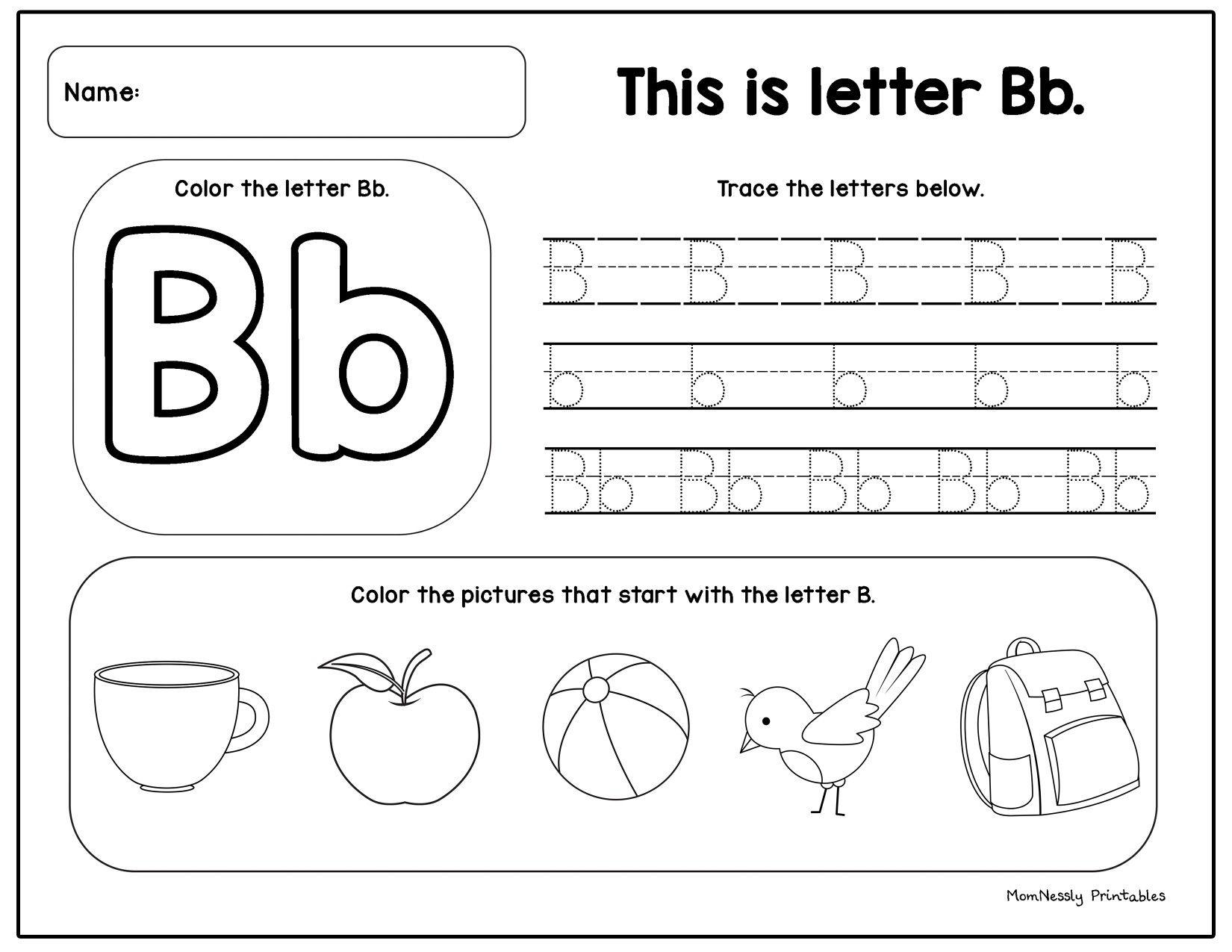 Printable Alphabet Tracing Set