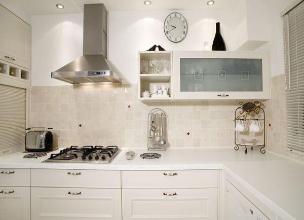 Cocina clasica en blanco ideas cocina pinterest for Muebles de cocina clasicos