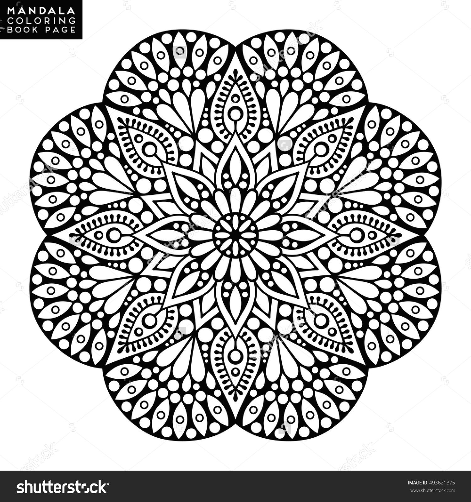 Mandala, Vector Mandala, floral mandala, flower mandala, oriental ...