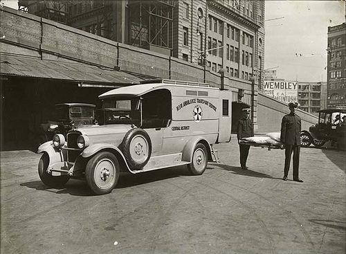 Ambulance 1930 Ambulance Australian Cars Australia History