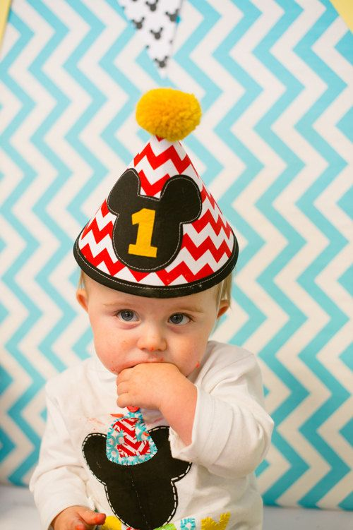 #chevron @Matt Nickles Nickles Nickles Nickles Beecroft mouse party hat so stinking cute