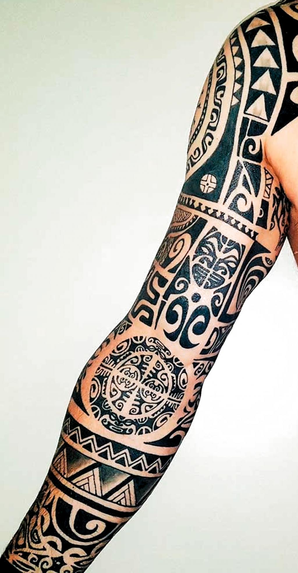 31++ Tatouage manchette homme maori trends