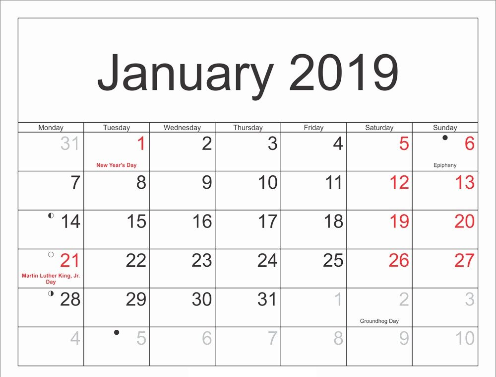 Moon Calendar January 2020 Lunar Phases With Images Calendar