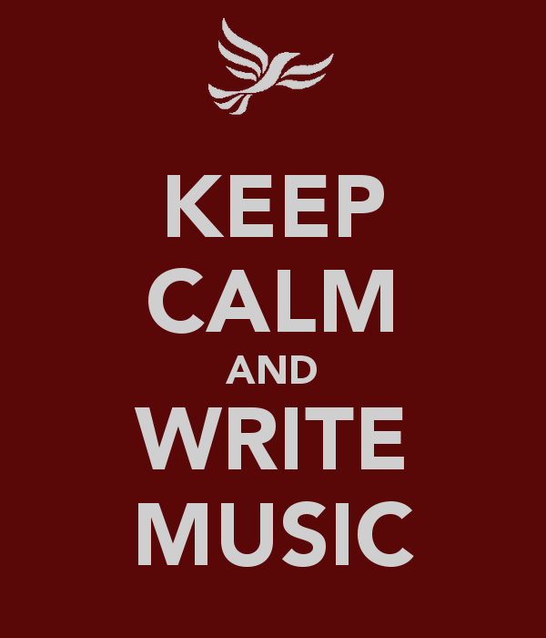 KEEP CALM AND WRITE MUSIC | Quotes | Pinterest | Keep calm, Ps and ...