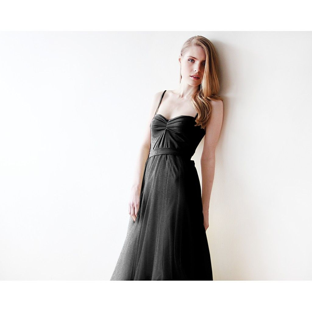 Black maxi ballerina tulle dress products pinterest black maxi