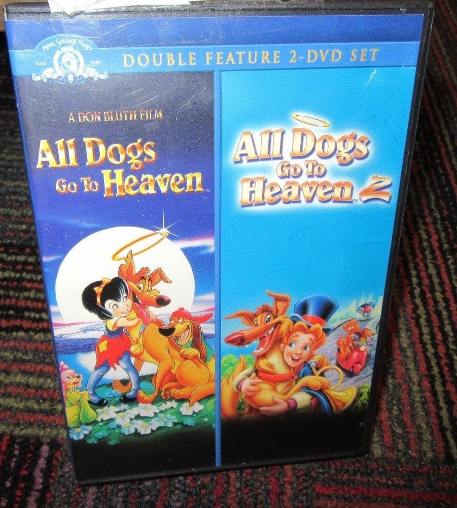 All Dogs Go To Heaven All Dogs Go To Heaven 2 Double Feature 2