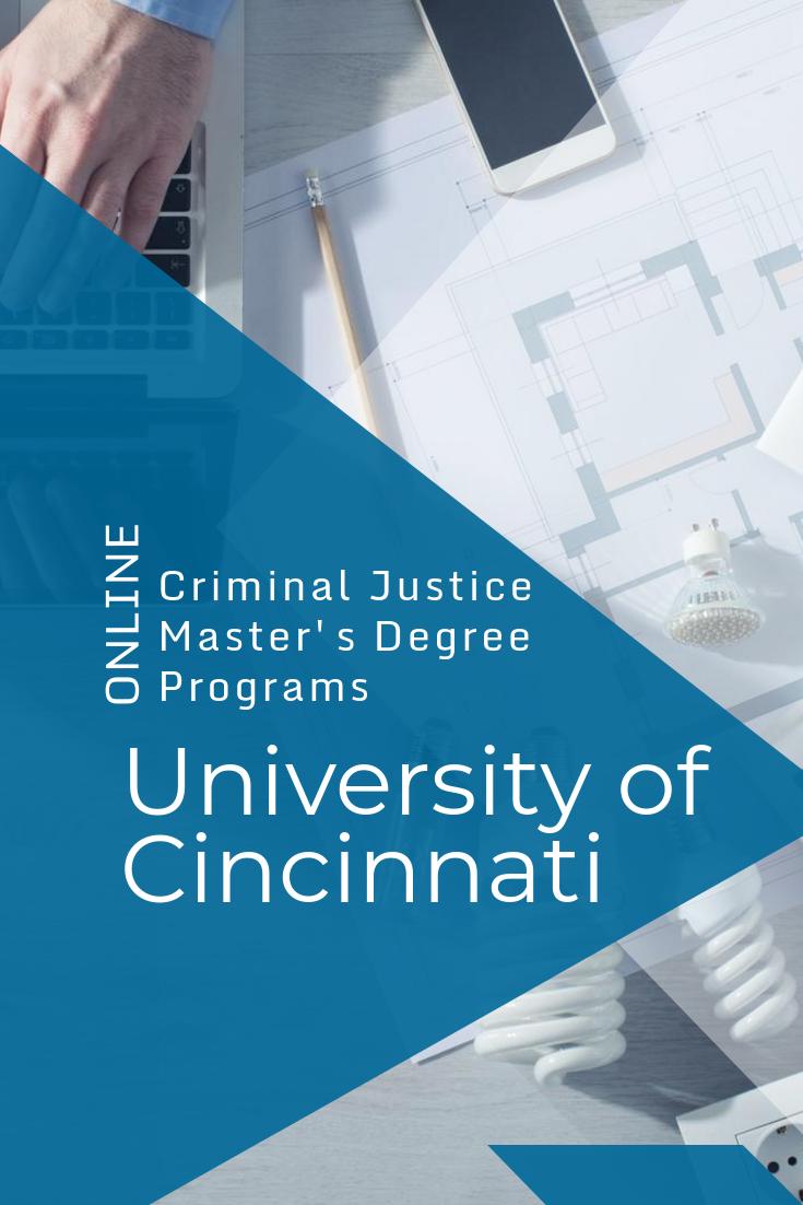 University of Cincinnati Best Online Criminal Justice