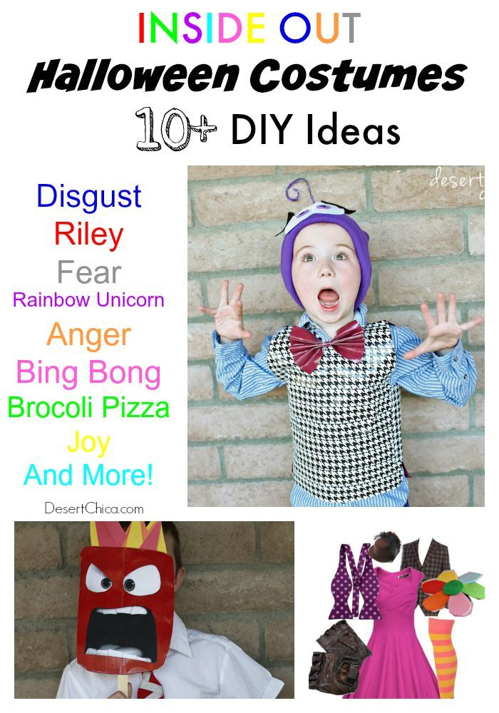 Inside Out Costume Ideas   DIY Ideas   Inside out costume