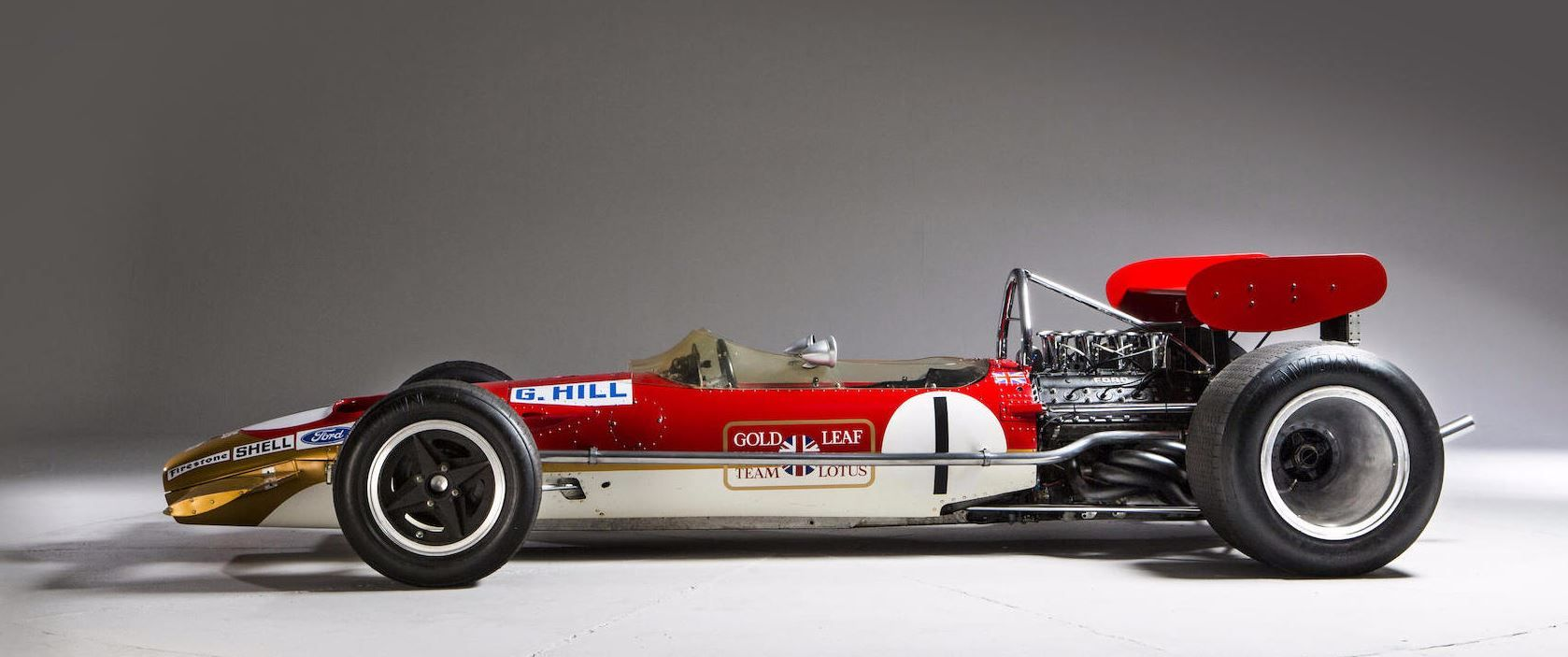 1968-69 LOTUS-COSWORTH FORD TYPE 49B FORMULA 1 AND TASMAN RACING ...