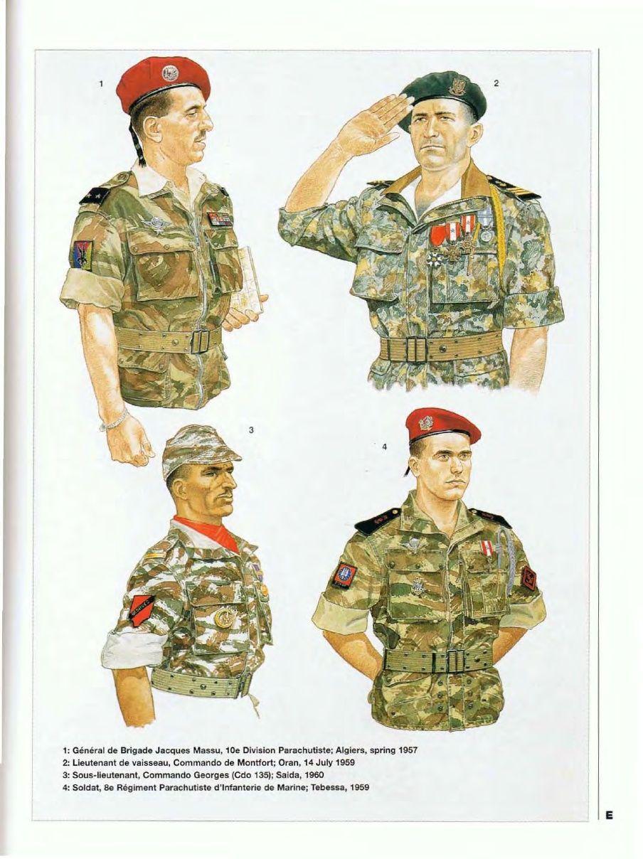 French the algerian 1 general de brigade - French div 2 ...