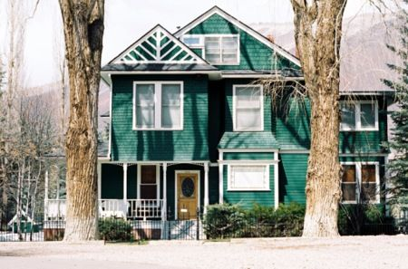 Exterior house color ideas mmmm green exterior house - Green exterior house color ideas ...