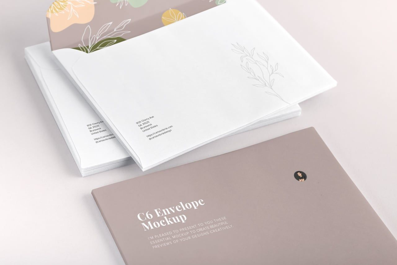 Download Stationery Mockup Template Psd Yellowimages