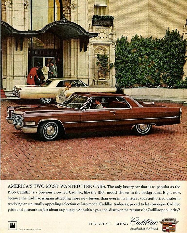 Pin On Cadillac 1965-66