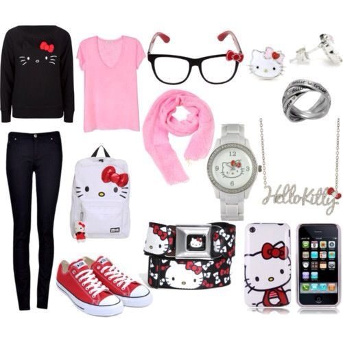 Hello Kitty Swag Outfits For Girls