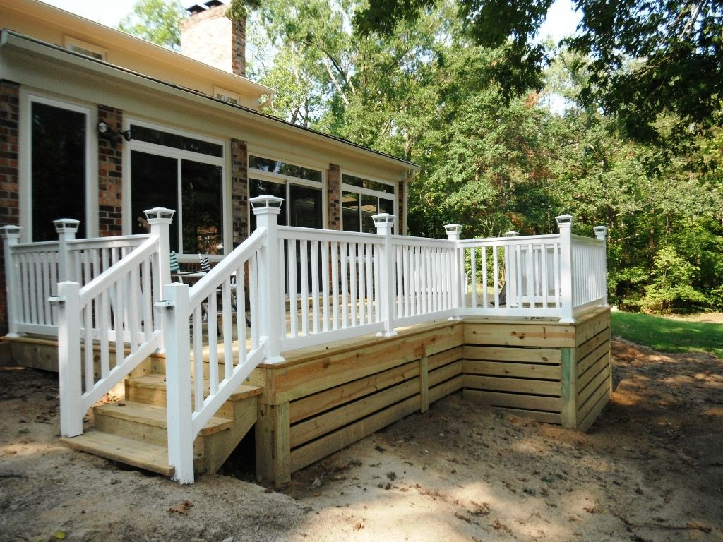 15 Superb Deck Design Cool Deck Skirting Ideas For Every Home Yard Deck Skirting Building A Deck Diy Deck