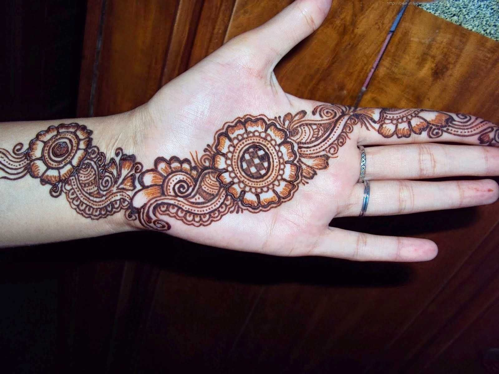Latest Mehndi Design : Mehndi design wallpapers latest designs images all