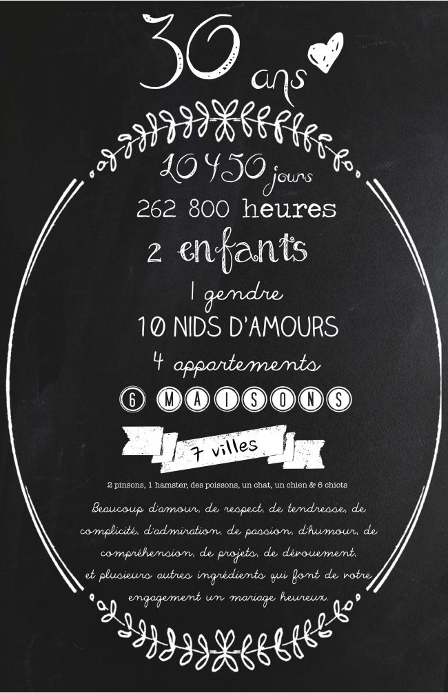 idee 30 ans surprise
