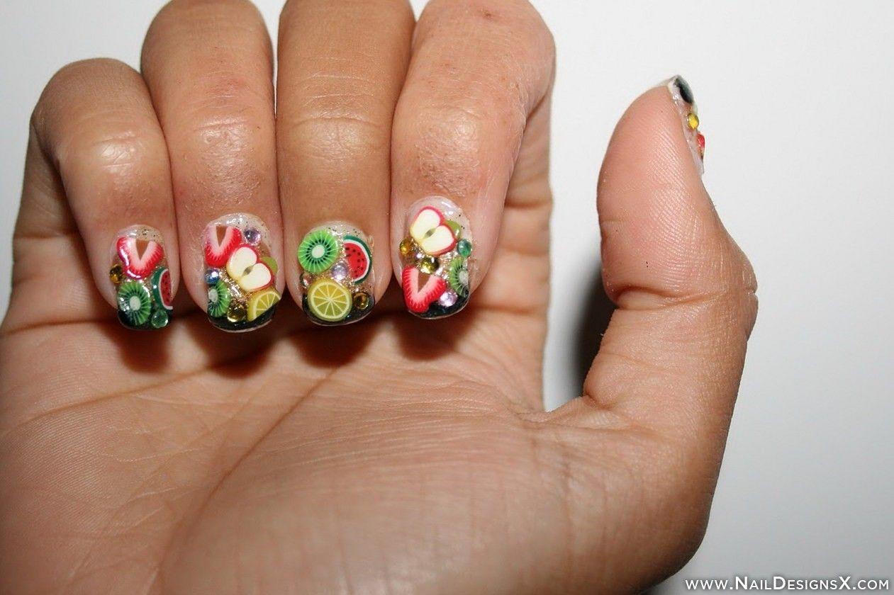 fruit nail design » Nail Designs & Nail Art | Fruit Nail Designs ...