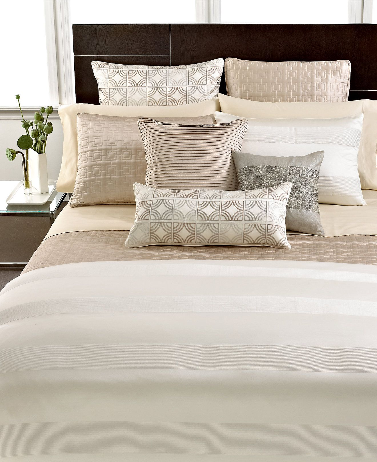 hotel collection woven cord bedding collection - bedding