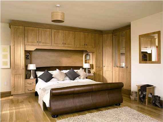 Bedroom Wall Unit Designs Wooden Wall Unit In Bedroom Perfect For Storing Your Favorite