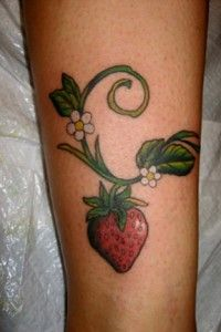 strawberry vine tattoos pinterest tattoo and body art. Black Bedroom Furniture Sets. Home Design Ideas