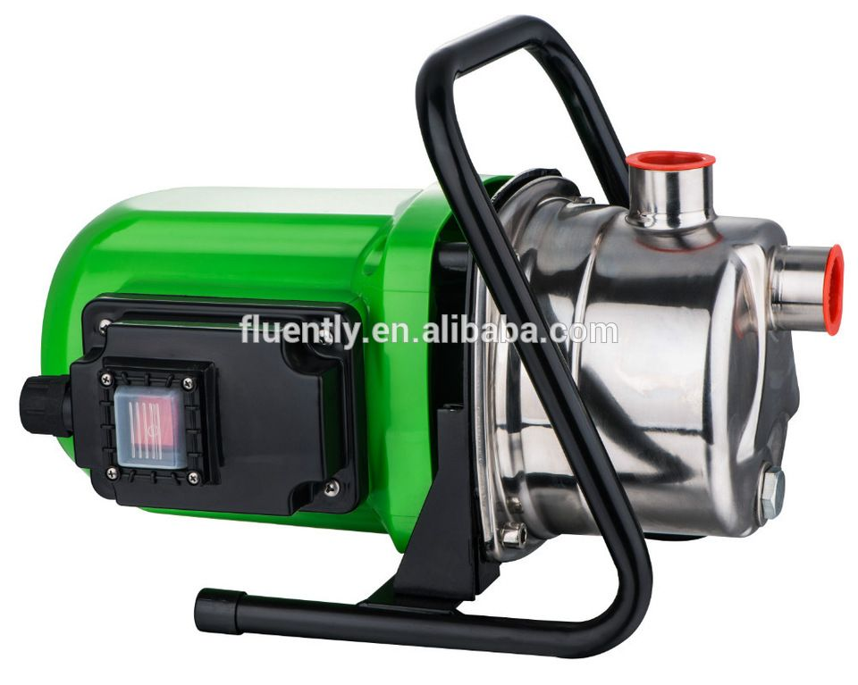 High Pressure Garden Booster Pump With Stainless Head High Pressure Boosters Garden Water Pump