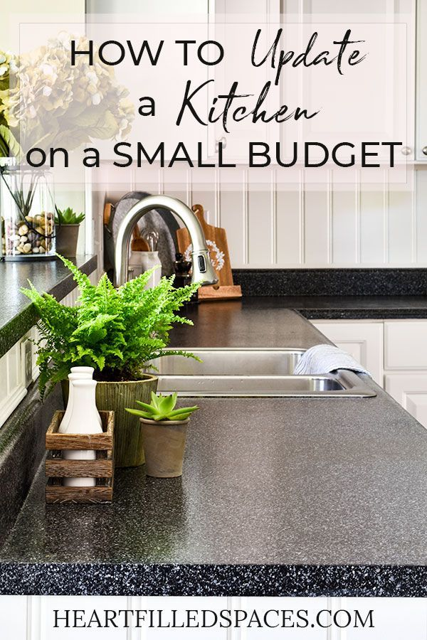 Kitchen Upgrade on a Small Budget |