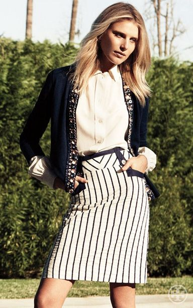 576076cd7 Fashion Dresses · Future Clothes · Business Outfits · Ala Moana · Tory  Burch Summer 2012 Fashion Now, Retro Fashion, Everyday Fashion, Viernes  Casual,