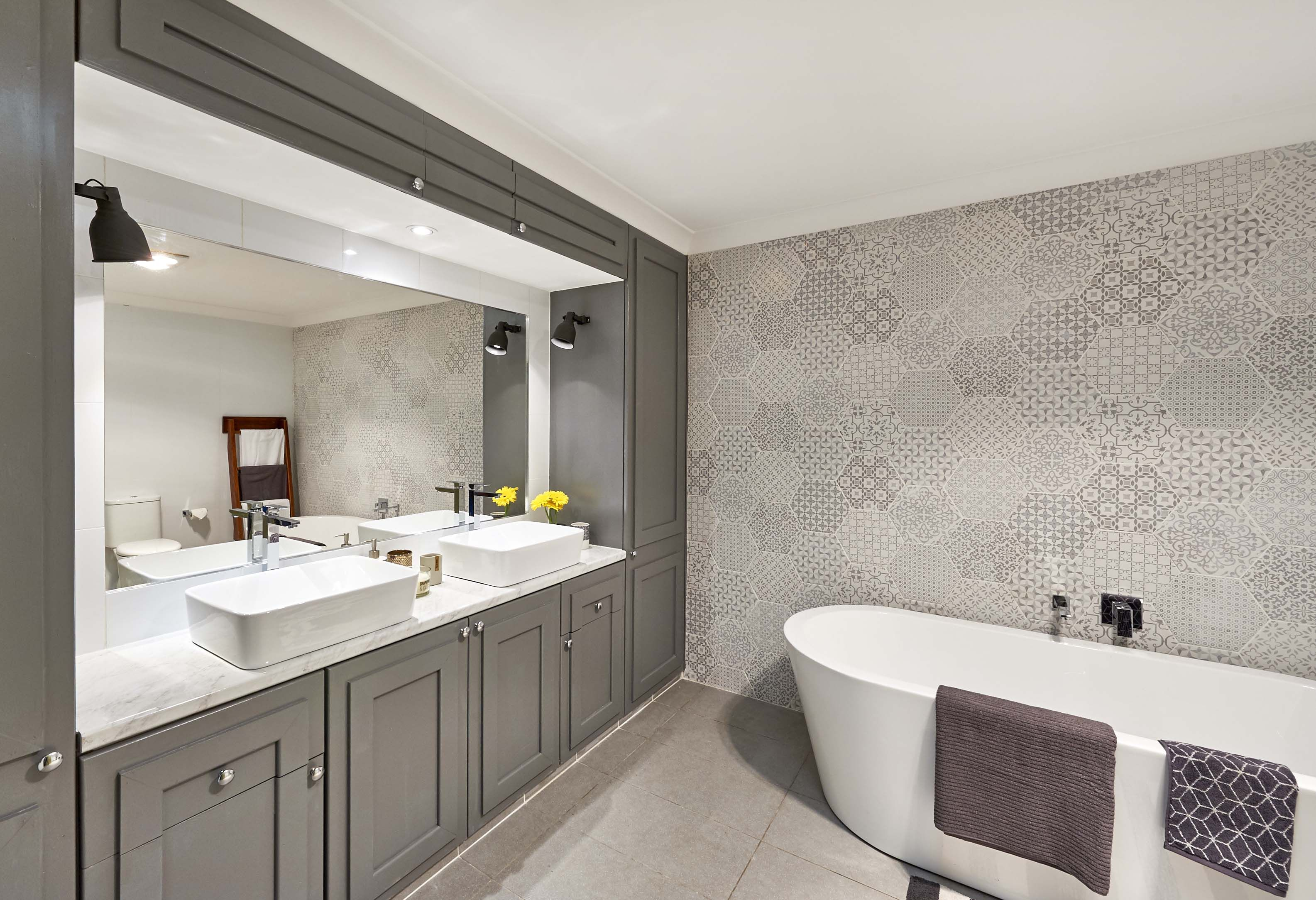 Real Homes Two Bathrooms Transformed For Just And - Bathroom labour costs