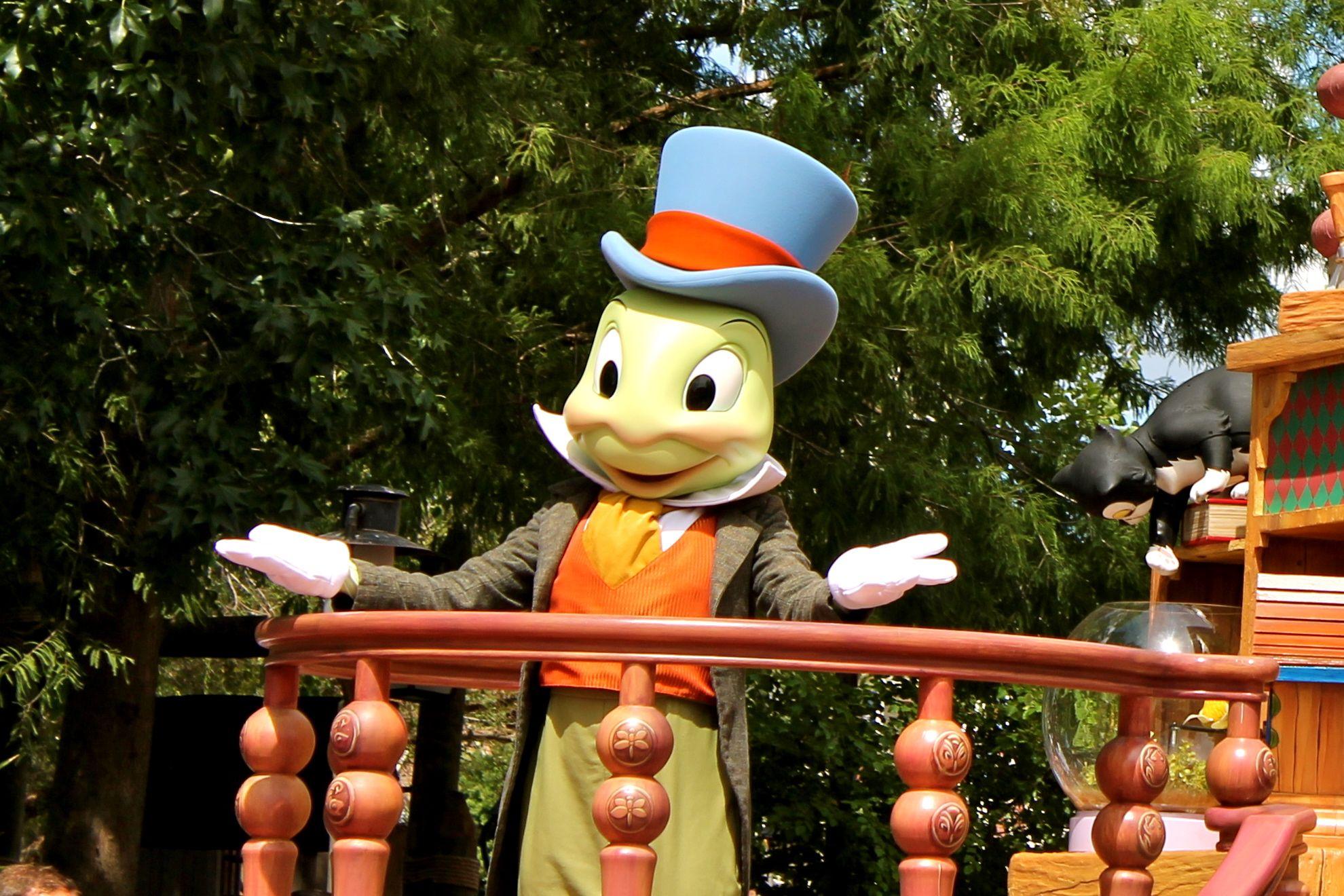 Jiminy Cricket - Celebrate a Dream Come True Parade - Magic Kingdom