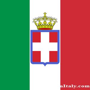 Italy Flag 1860 Kingdom of Italy  Italy    Pinterest  Flags