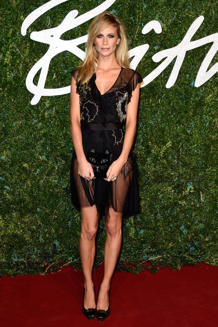 Pin for Later: Everyone Is Winning on the British Fashion Awards Red Carpet Poppy Delevingne Poppy Delevingne in Topshop.