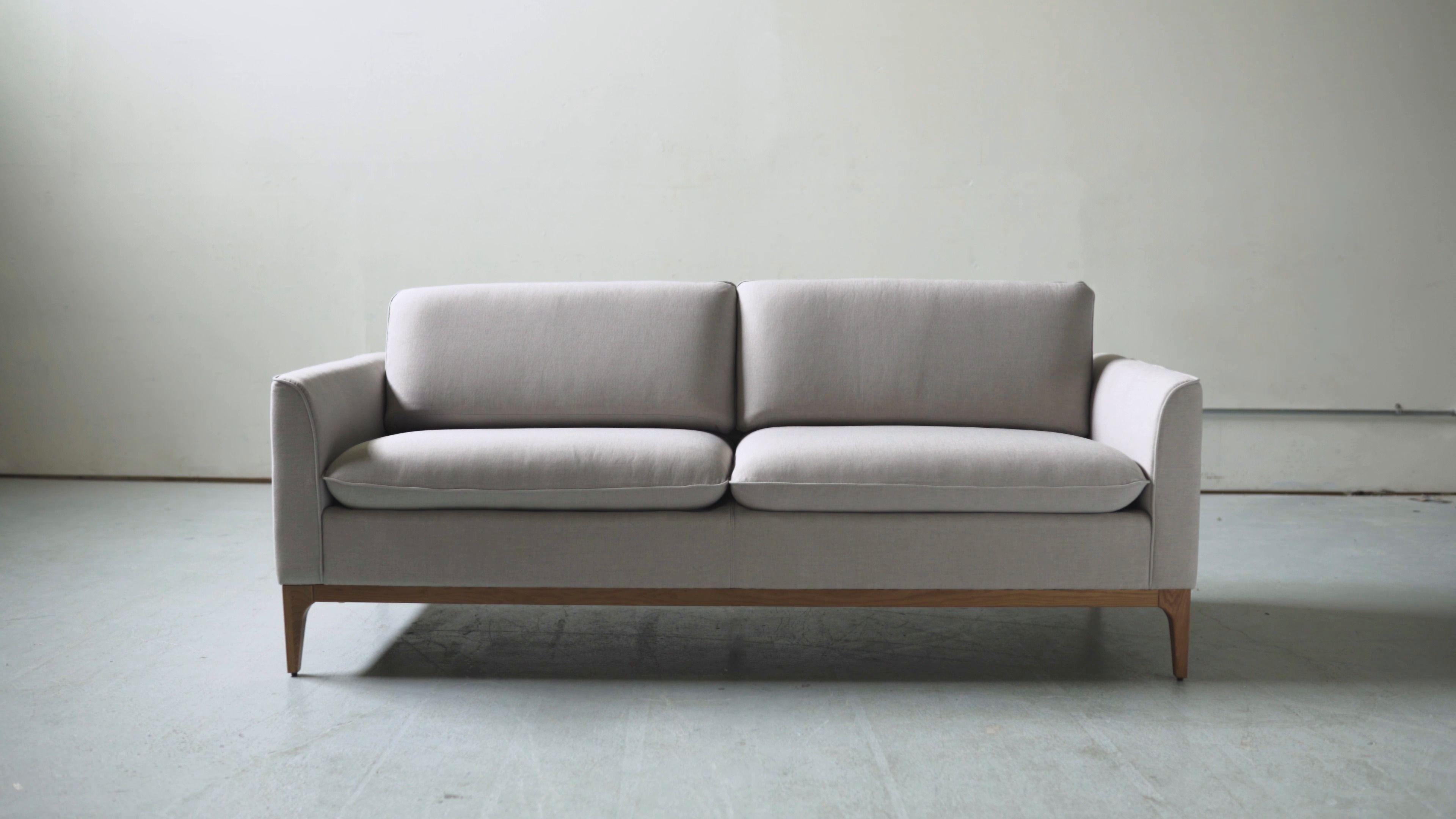 The Loren Sofa Is A Practical Scandinavian Style Sofa Exclusive To The Kure Collection By Rove Concepts The Sofa Scandinavian Style Rove Concepts Sofa Design