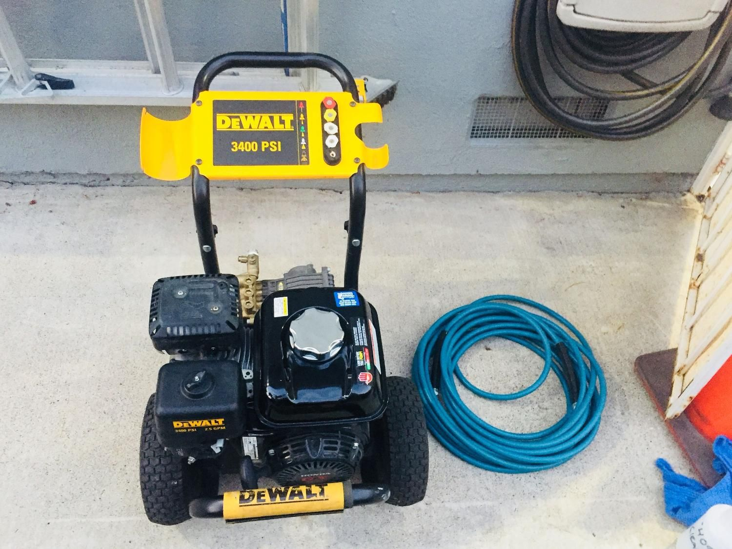 Pin On Psi Dewalt 3400 Pressure Washer With Gun And Hose 340