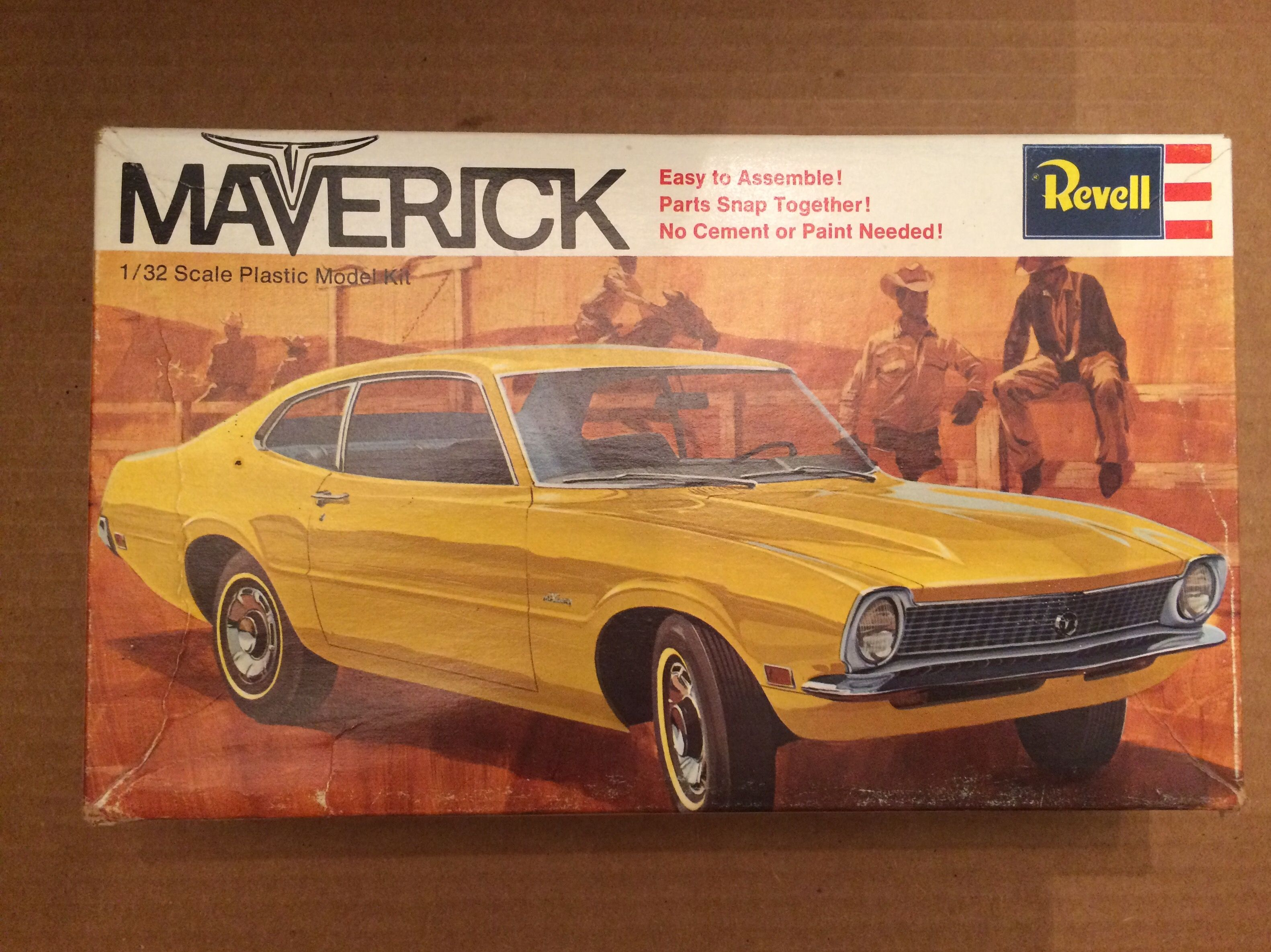 Maverick 1 32 Scale Model Cars Kits Plastic Model Kits Revell Model Cars