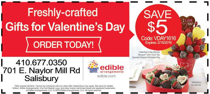 Freshly Crafted Gifts For Valentine S Day Await You At Edible Arrangements In Salisbury Md Use Valentine Day Special Valentine Day Gifts Edible Arrangements