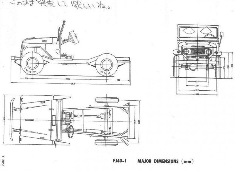 alinhamento de chassis e medidas-fj40 jpg