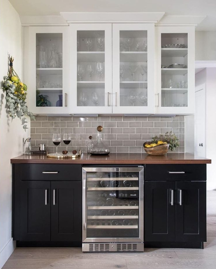 3 X 6 Weather Grey In 2019 Black And White Kitchen