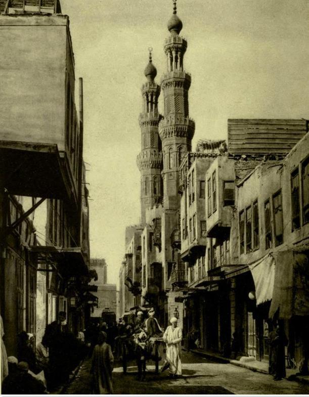 Al Darb Al Ahmar - Cairo , 1930  القاهرة الدرب الاحمر