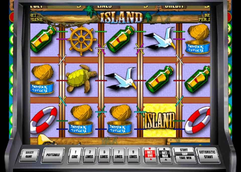 Игровые автоматы бесплатно остров island платья казино главная