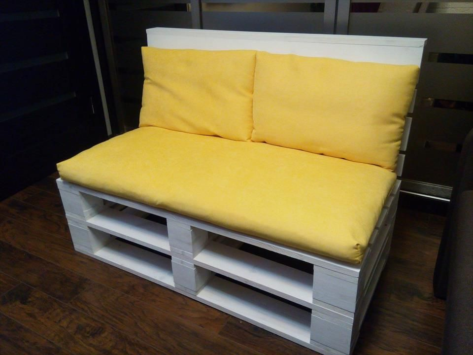 Pallet Sofa For 2 Person Seating | 101 Pallets