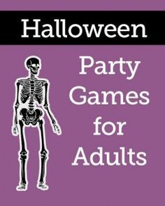 halloween game ideas party Adult