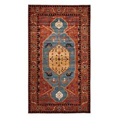 "Adina Collection Oriental Rug, 7' x 12'7"""