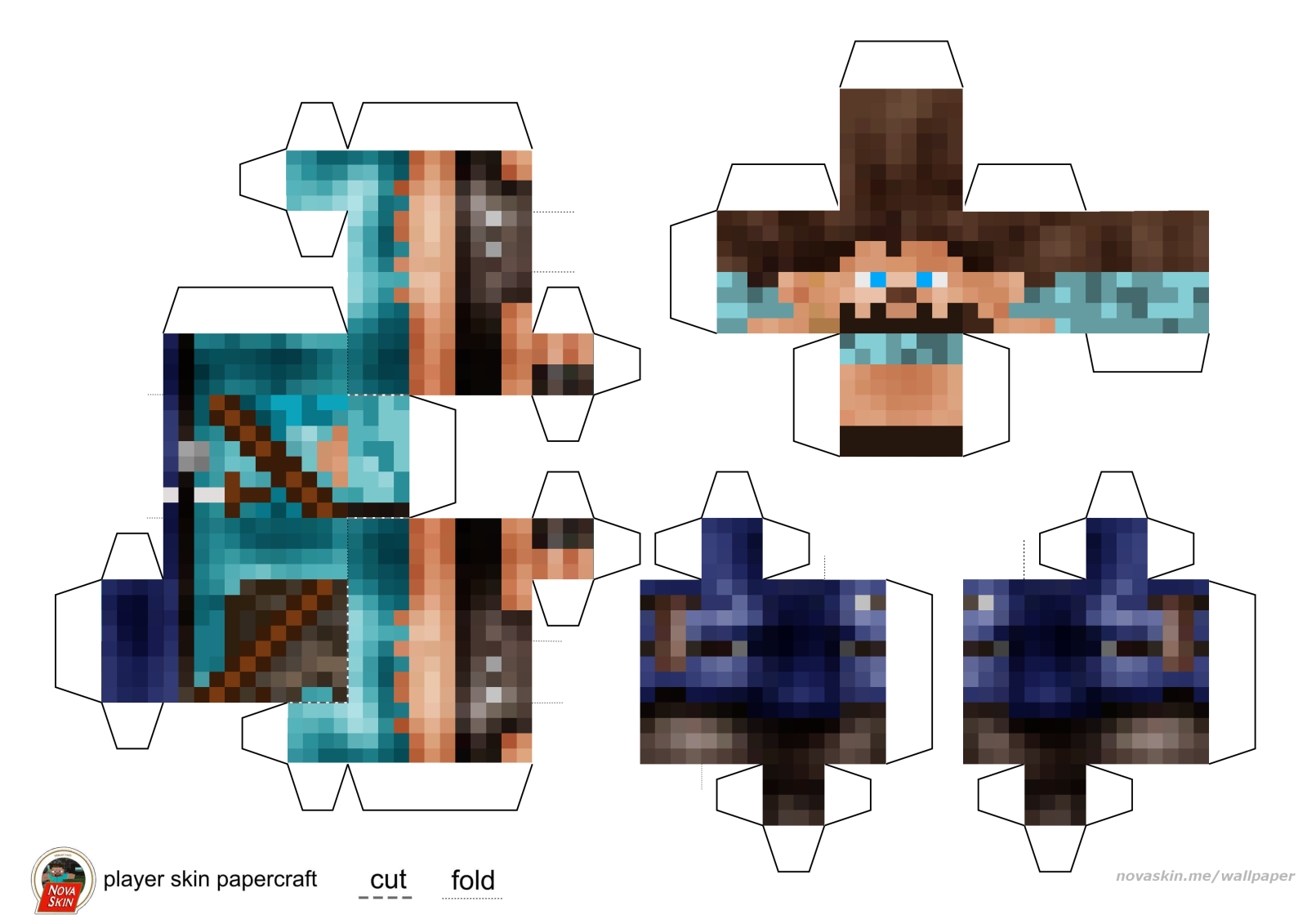nova skin minecraft wallpaper generator with custom